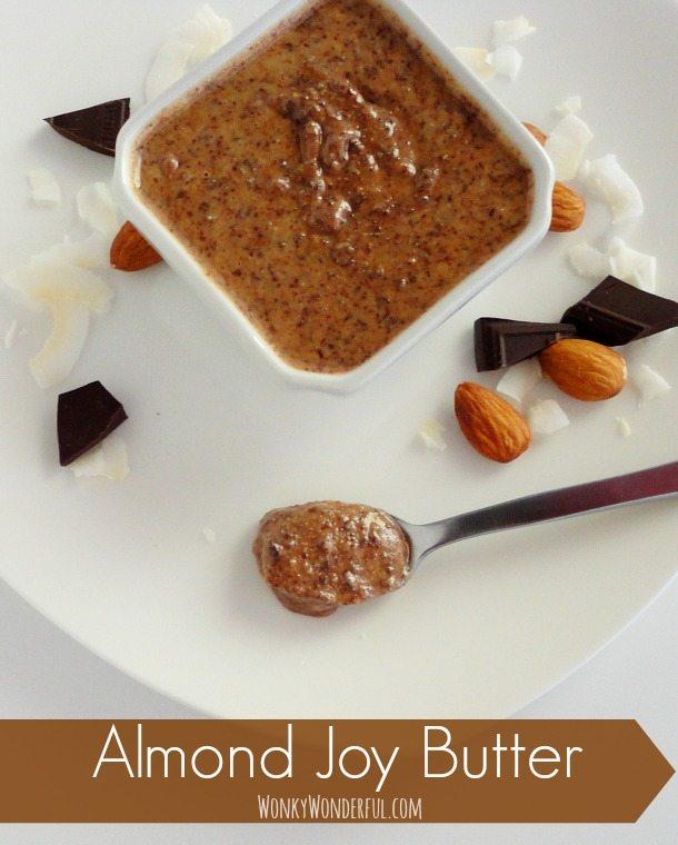 Chocolate Coconut Almond Butter Recipe - Almond Joy Butter Spread