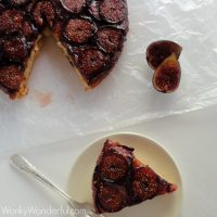 Fig Upside Down Cake