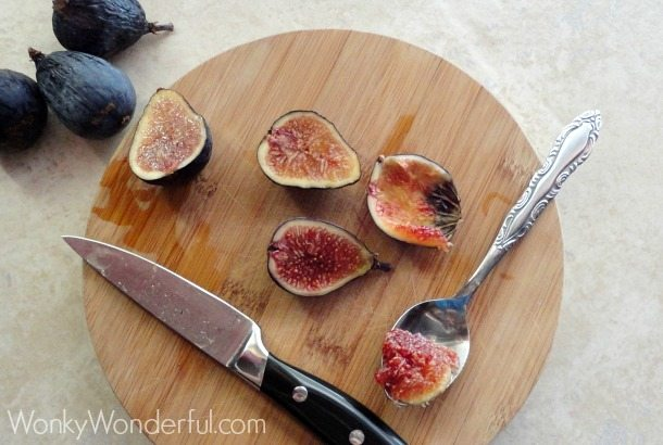 Fresh Fig Ice Cream Recipe ::: wonkywonderful.com