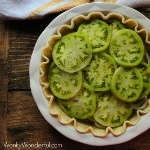 Fried Green Tomato Pie