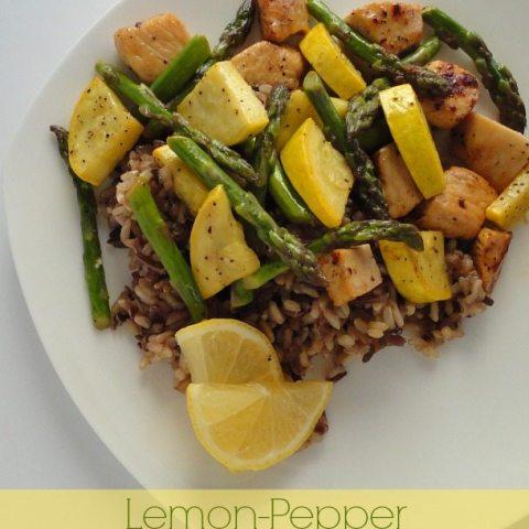 Lemon-Pepper Chicken Saute