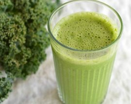 Grapefruit and Kale Green Smoothie Recipe - Healthy - Detox - Cleanse - wonkywonderful.com