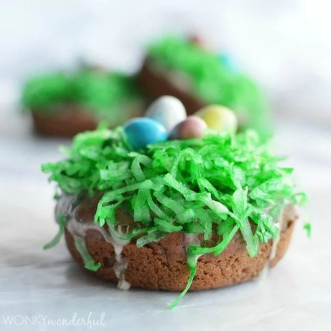 Baked Easter Donuts