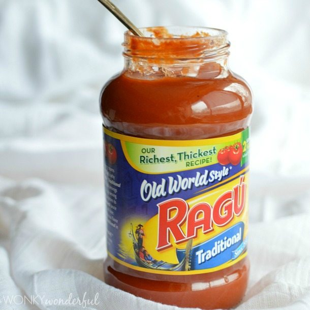 Easy Meatball Sub Sandwich made with Ragú. Dinner Recipe - wonkywonderful.com