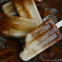 Dairy Free Coffee Popsicles