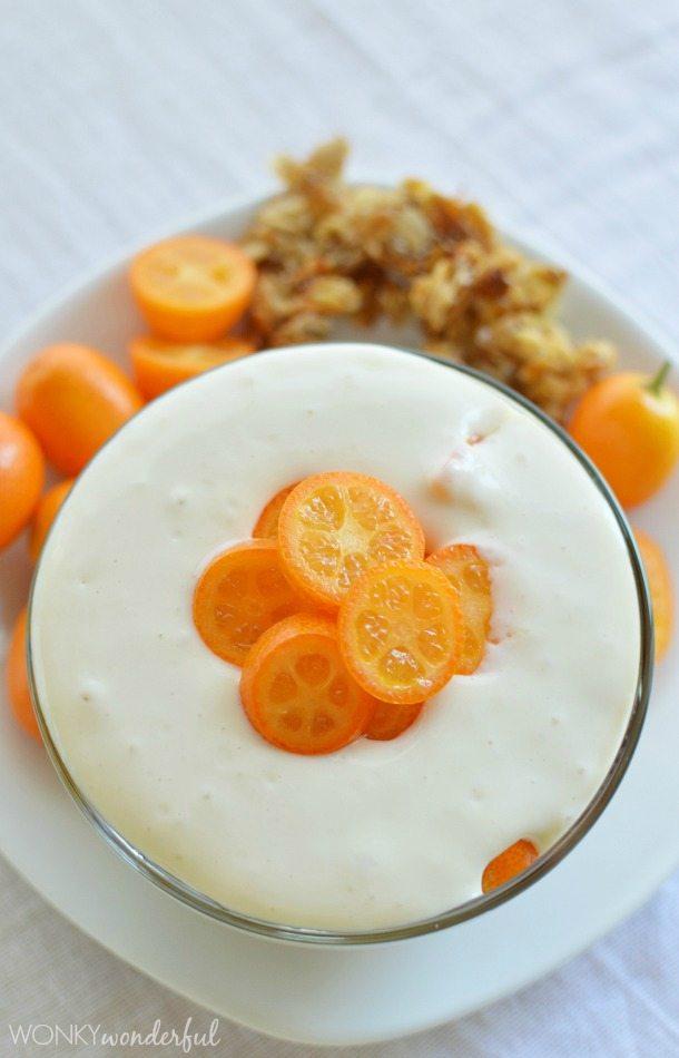 Whipped Yogurt and Ricotta Breakfast Parfait Recipe with Fresh Kumquats : Donna Hay Fresh and Light Cookbook