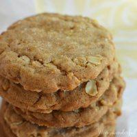 Crispy Gingerbread Cookies - dairy free