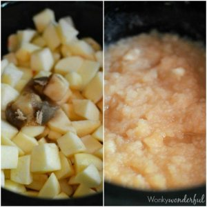 How to make homemade apple sauce in your slow cooker