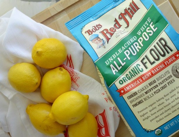 Cranberry Lemon Bars