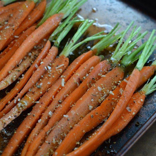 How To Roast Carrots