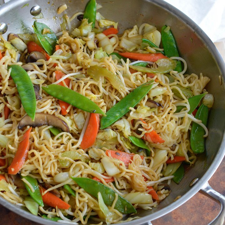 How to make chow mein noodles 2