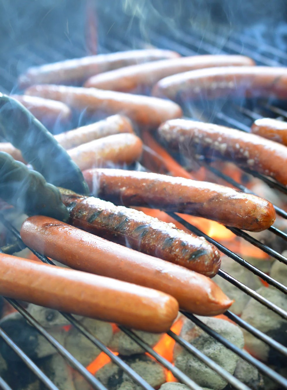 Hot Dog Bbq - Perfect for a summertime party!