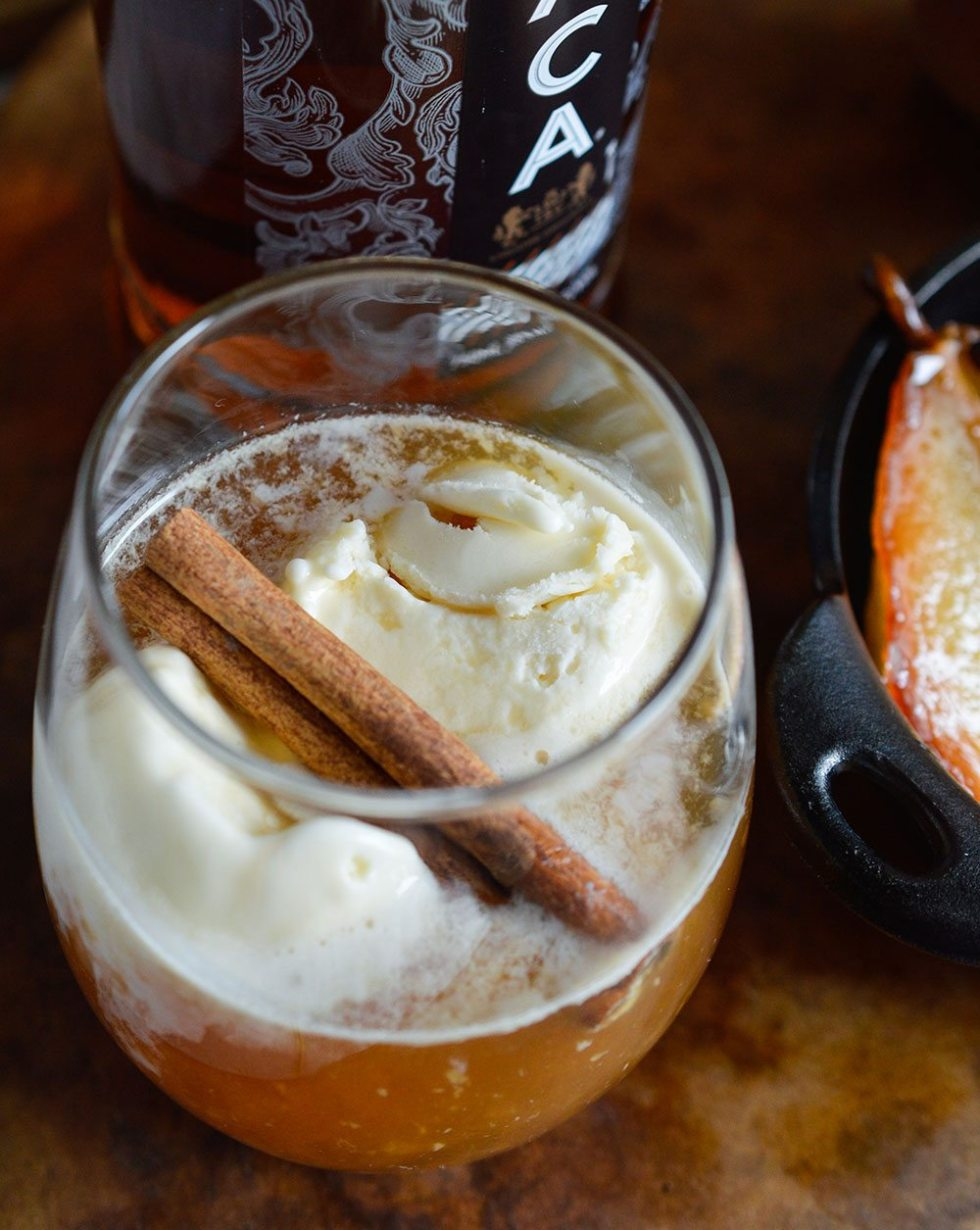 Tuaca Cider Float