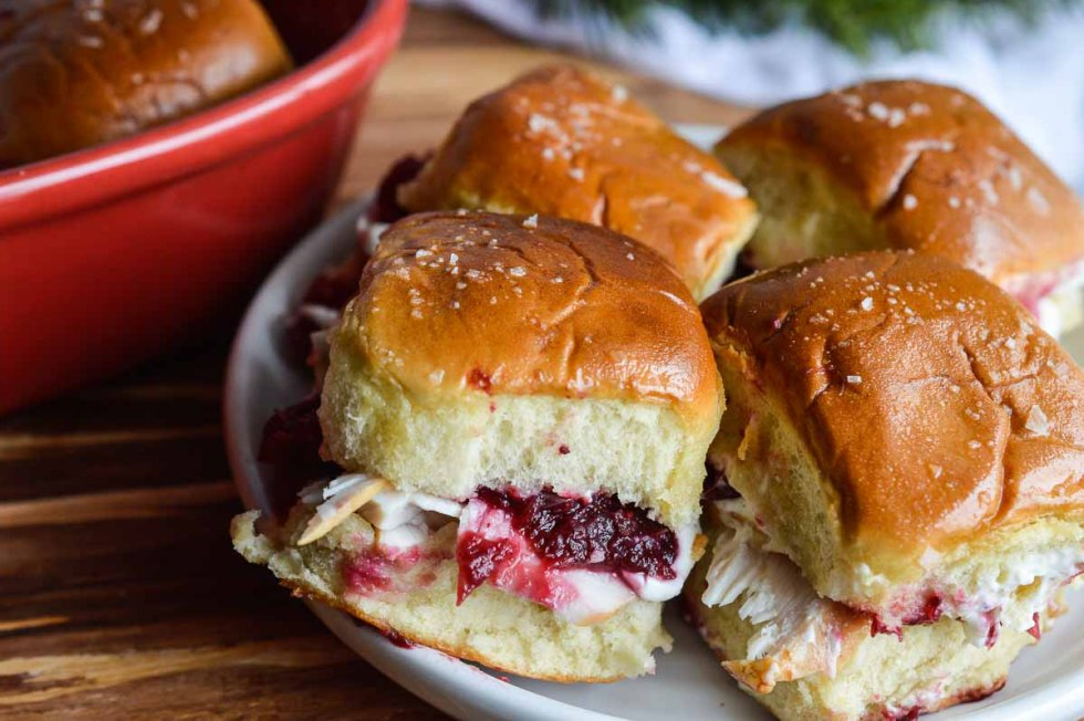 Oven Baked Turkey Sandwiches are perfect for using up those Thanksgiving leftovers! Feed your hungry crowd with this easy recipe!