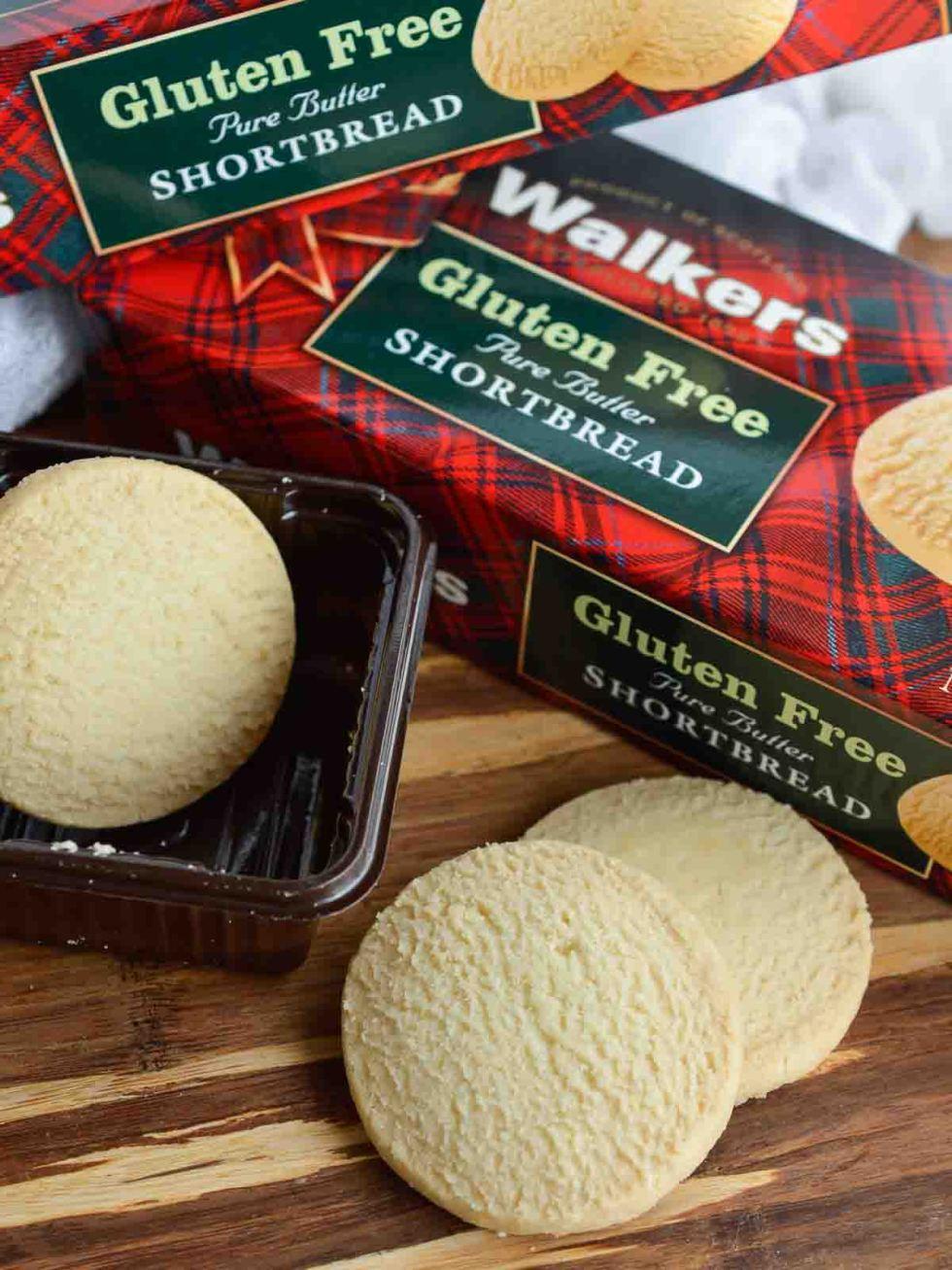Gluten Free Walkers Shortbread