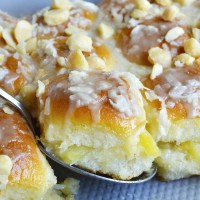 Pineapple Coconut Hawaiian Sweet Rolls