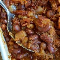 Double Pork Baked Beans