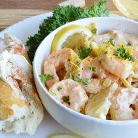 Zesty Cajun Shrimp Pasta