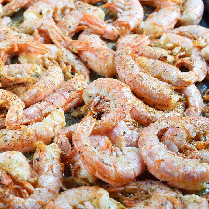 Buttery Oven Roasted Shrimp