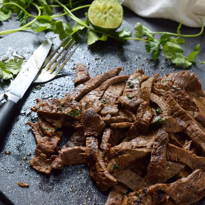 Quick Carne Asada Recipe
