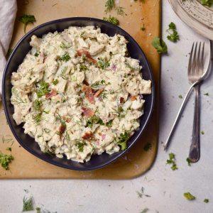 Bacon Ranch Chicken Salad (Whole30, Paleo)