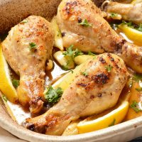 Whole30 - Paleo Lemon Garlic Chicken Drumsticks