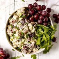 Chicken Salad with Grapes and Chives