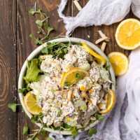 Poppy Seed Lemon Chicken Salad