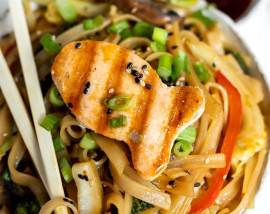 Ginger Soy Chinese Noodles