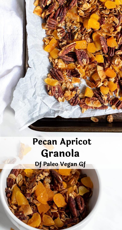 homemade granola recipe photo collage