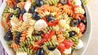 Tri Color Pasta Salad Recipe