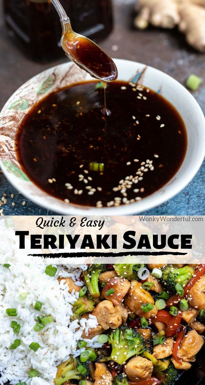 Easy Homemade Meals: EASY HOMEMADE TERIYAKI SAUCE RECIPE!!! + WonkyWonderful
