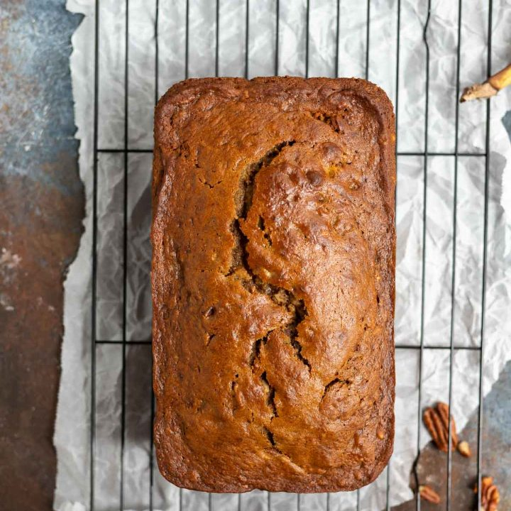Easy Banana Pecan Bread Recipe