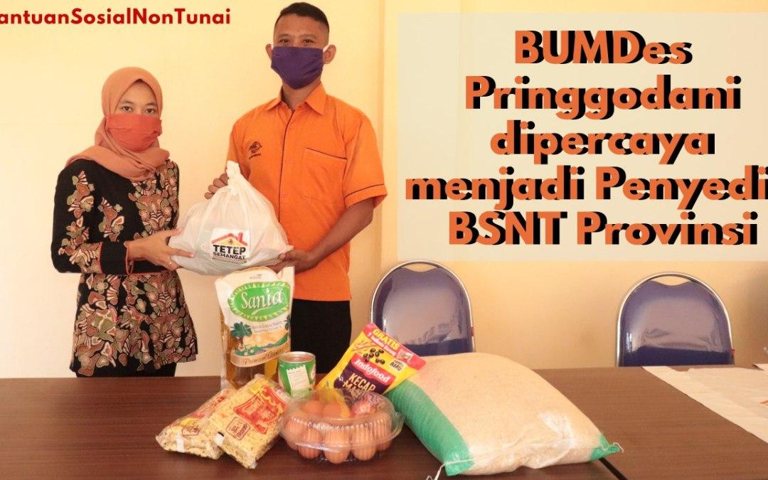 BUMDes Pringgodani Jadi Penyedia BSNT Provinsi