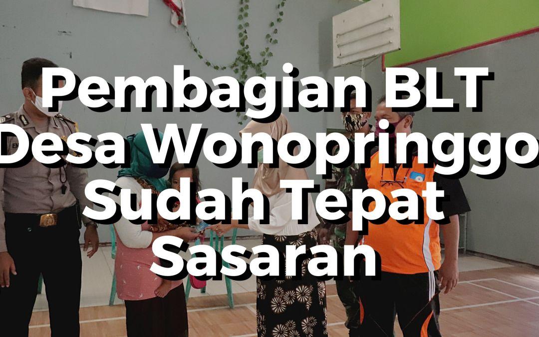 BLT Desa Wonopringgo Sudah Tepat Sasaran