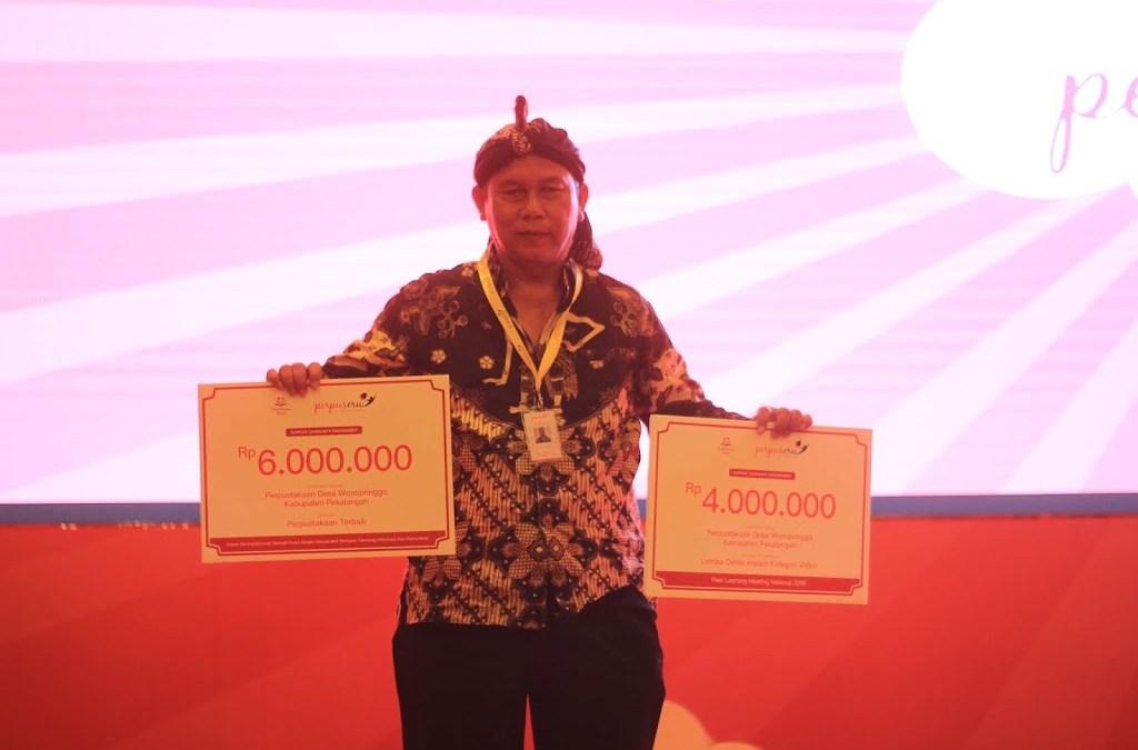Perpusdes Cerah Desa Wonopringgo Berhasil Meraih Dua Prestasi Tingkat Nasional