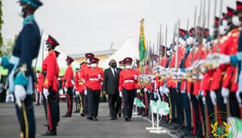 """Gov't Will Continue To Expand, Modernise Armed Forces"" – President Akufo-Addo"