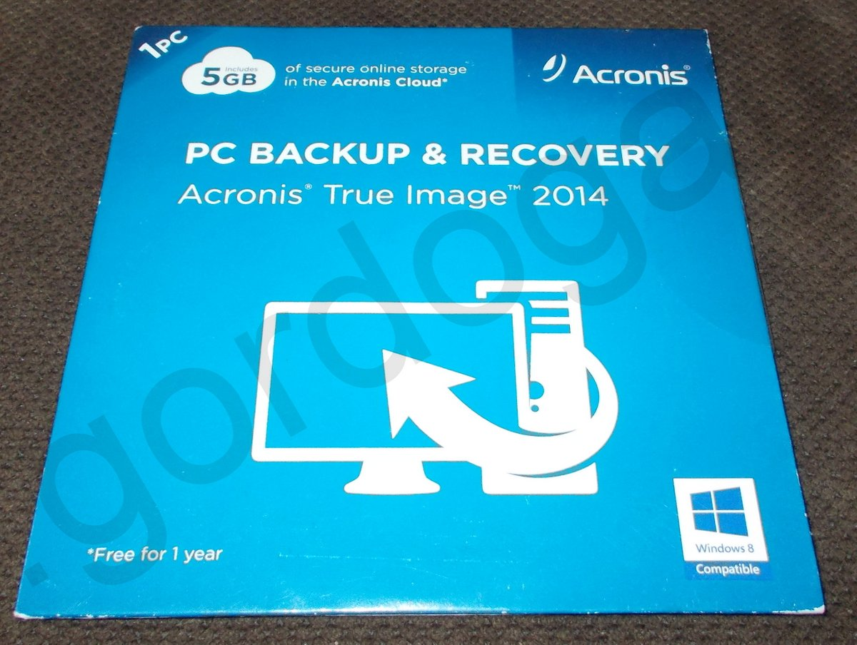 acronis true image serial number 2014
