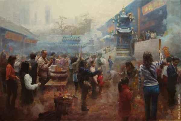 Paintings Huihan Liu
