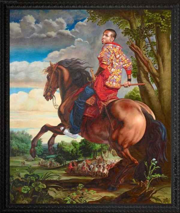 Kehinde Wiley Paintings