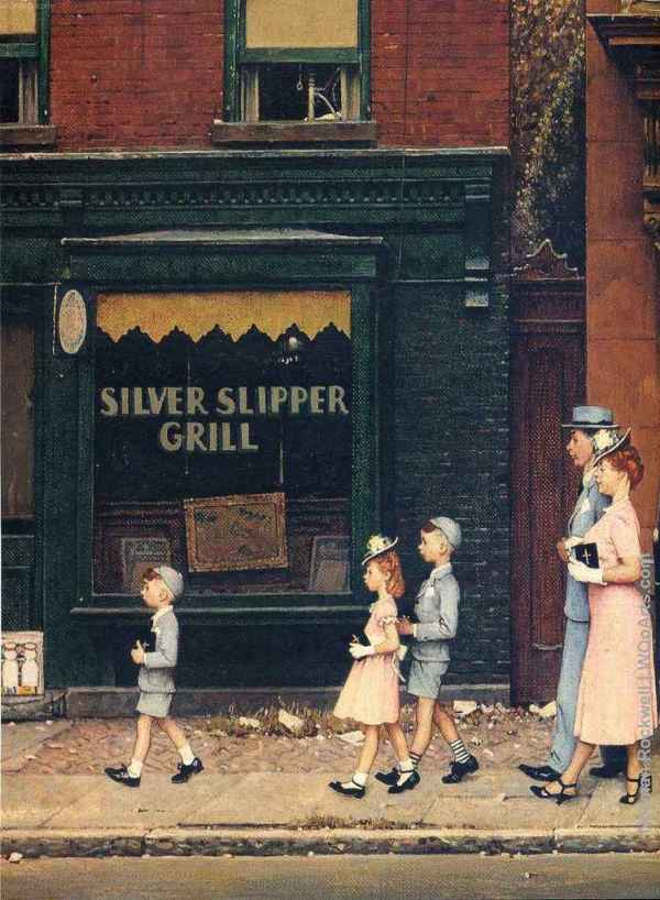 Illustrations Prolific Artist Norman Rockwell
