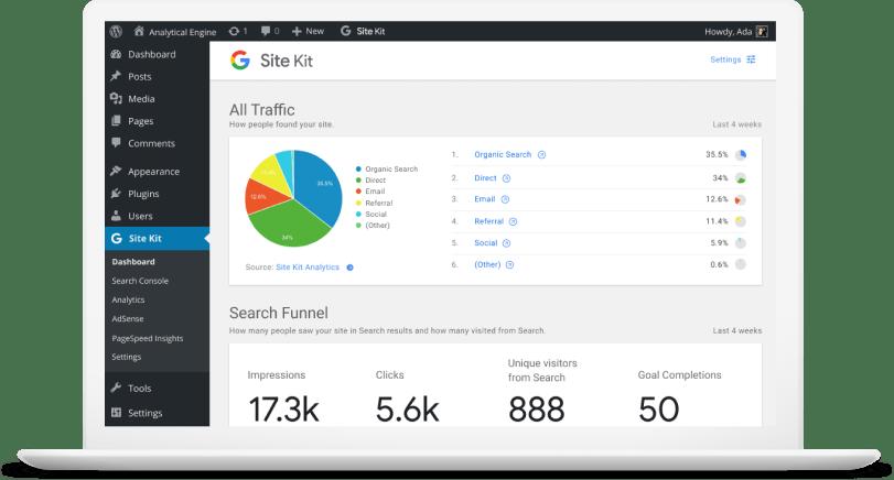 Google's SiteKit WordPress Plugin