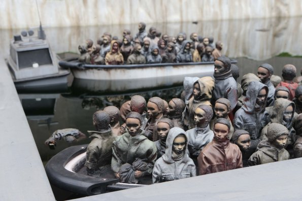 Banksy-Dismaland-05- Crédit photo Marc Giddings The Sunsipa