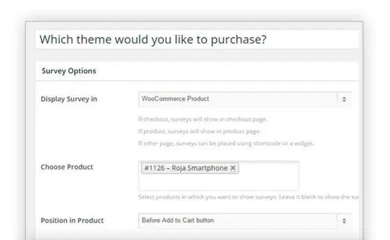 YITH WooCommerce Surveys Premium