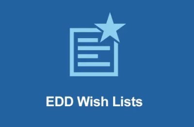 Easy Digital Downloads Wish Lists Addon