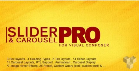 Pro Slider & Carousel Layout for Visual Composer
