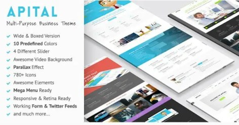 Apital - Ultra Premium Business WordPress Theme