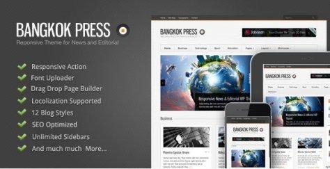 Bangkok Press - Responsive, News & Editorial Theme