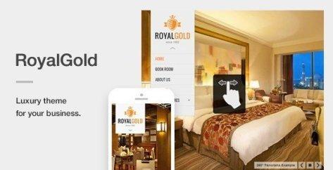 RoyalGold - A Luxury Responsive WordPress Theme