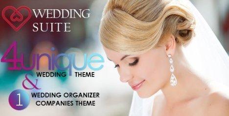 Wedding Suite - WordPress Wedding Theme